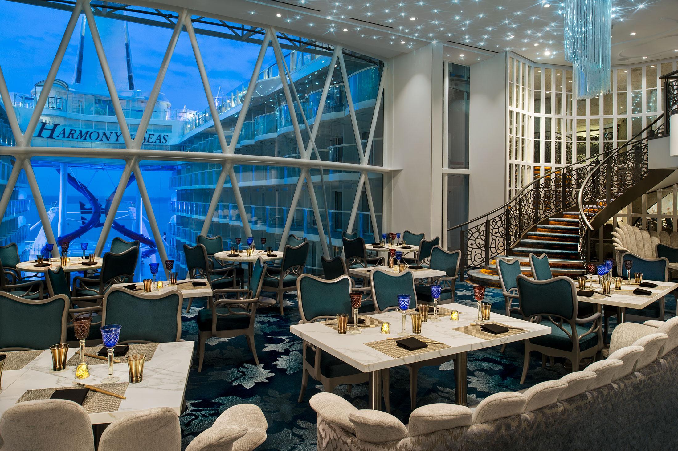 Dining harmony of the seas - Harmony of the seas interior rooms ...
