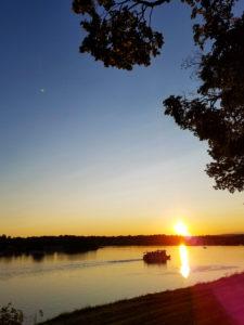 Sunset on the Susquehanna