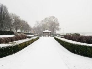 Harrisburg in the Winter
