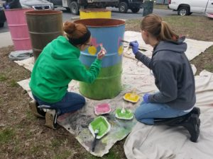 Youth Day Of Caring on City Island