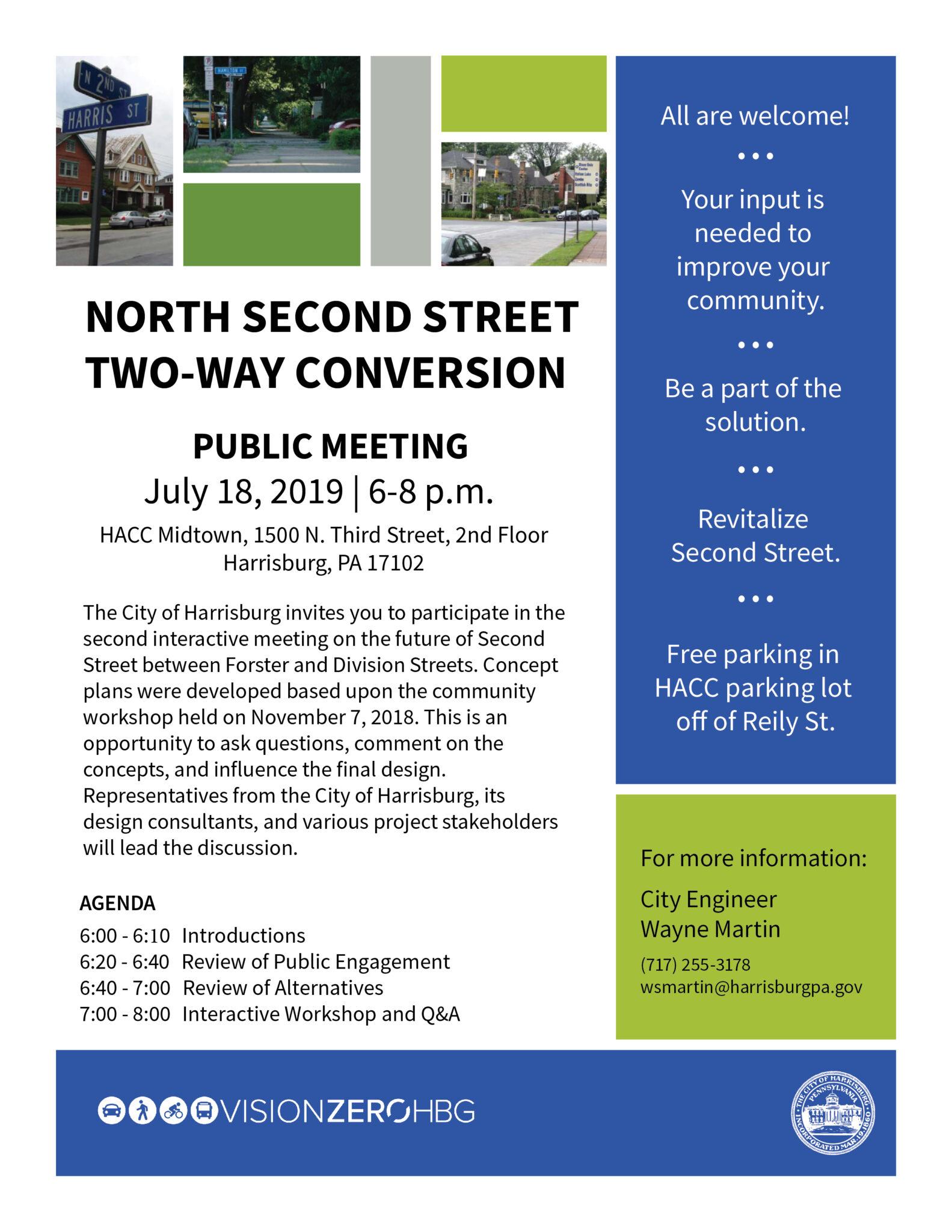 Vision Zero Public Meeting