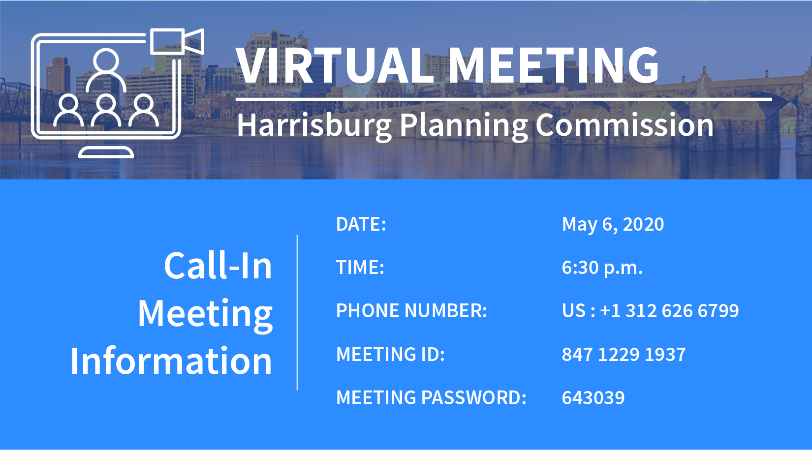 Virtual Planning Commission Meeting