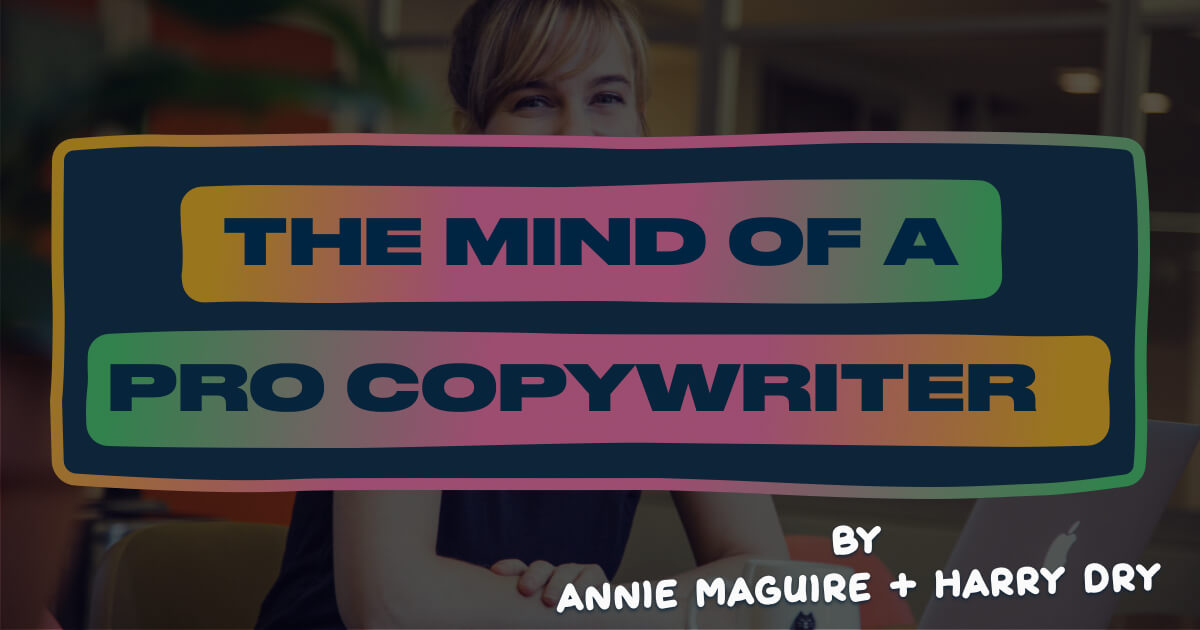 Rewriting landing pages with a pro copywriter