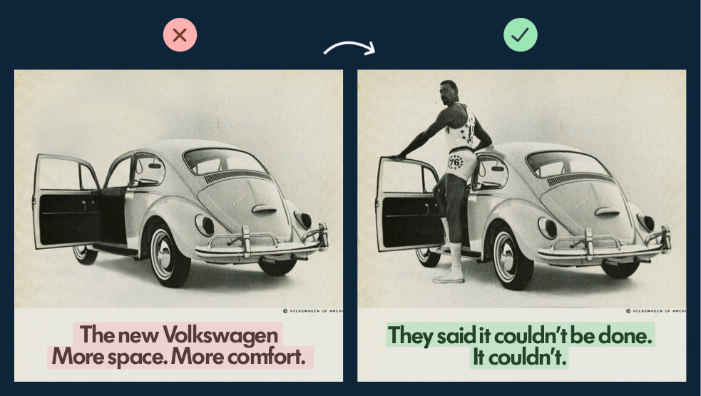 Volkswagon old ads
