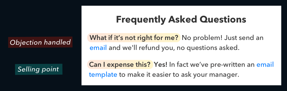 Landing Page FAQs