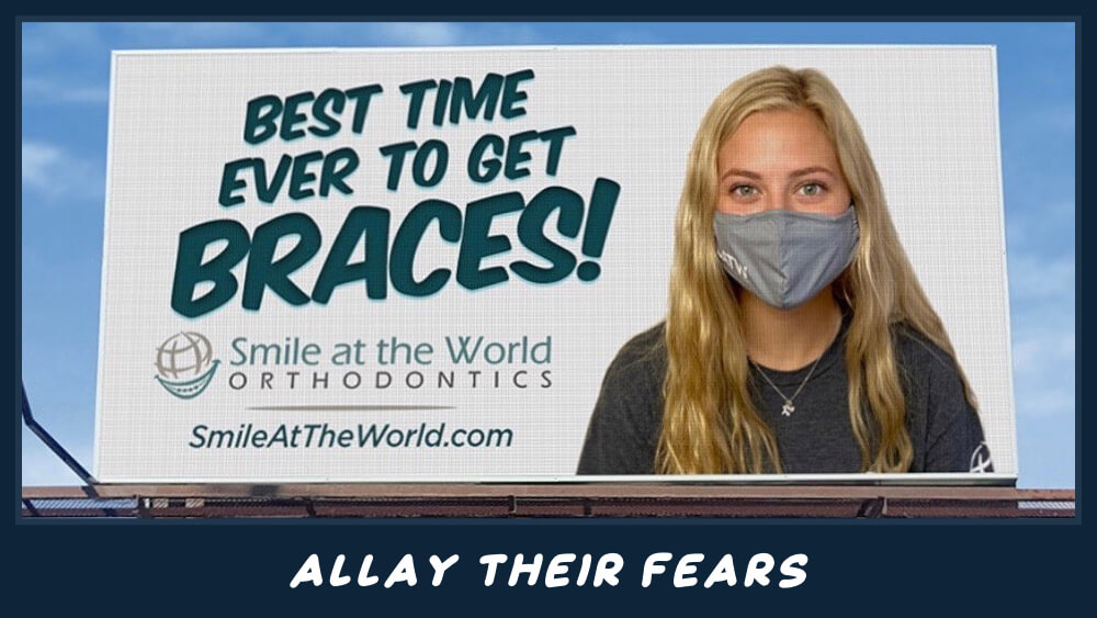 Best time ever to get braces billboard