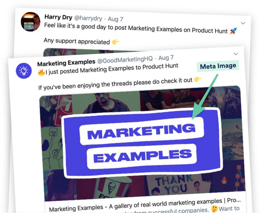 Marketing Examples Product Hunt Comment