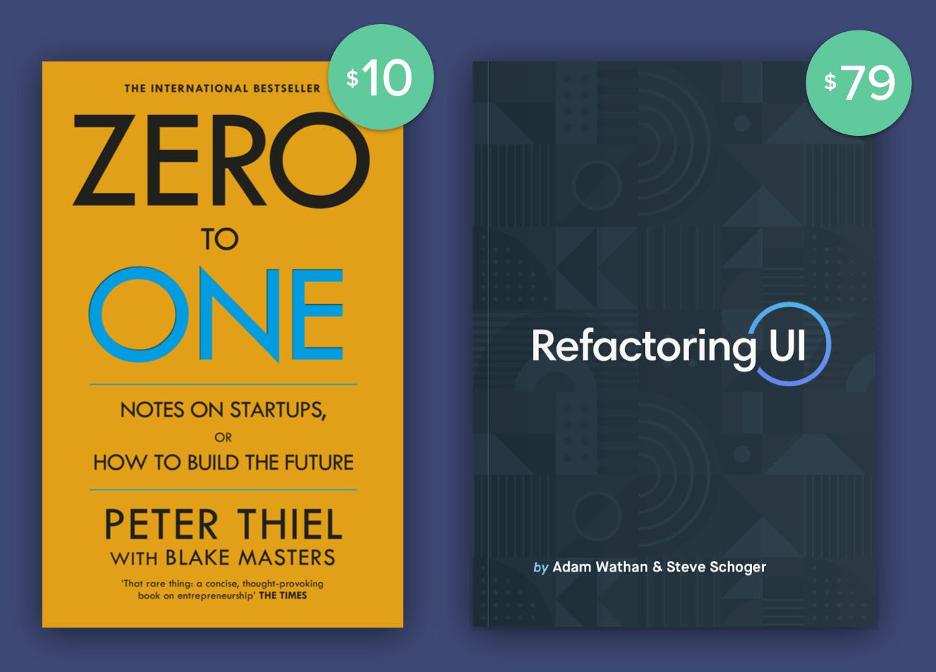 Pieter Thiel Vs Refactoring UI