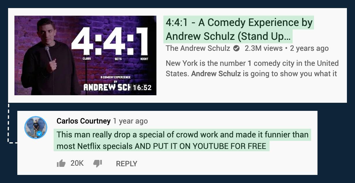 Andrew Schulz 4:4:1 Special