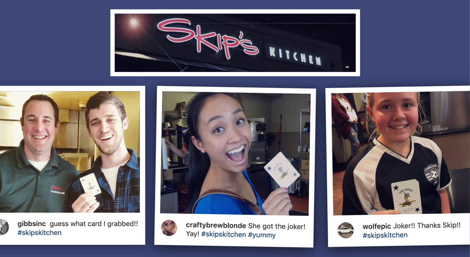 Skip's restaurant joker