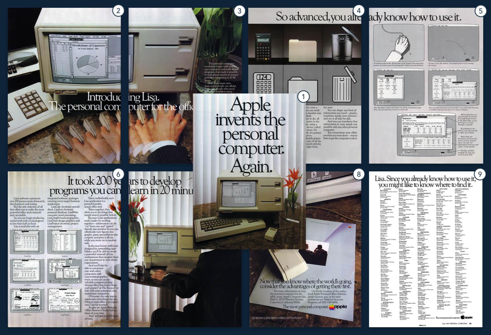 Apple 1983 New York Times ad