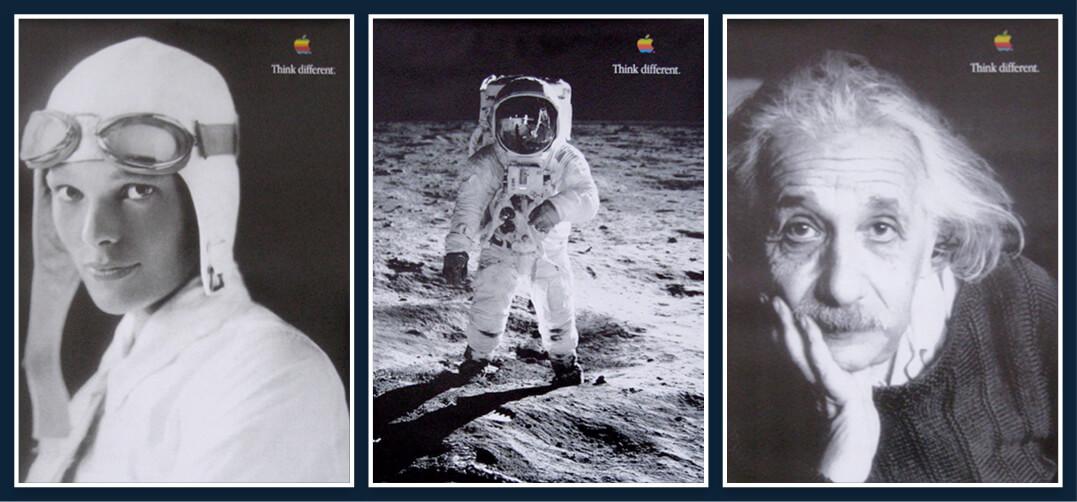 Apple Think Differnt: Moon landing