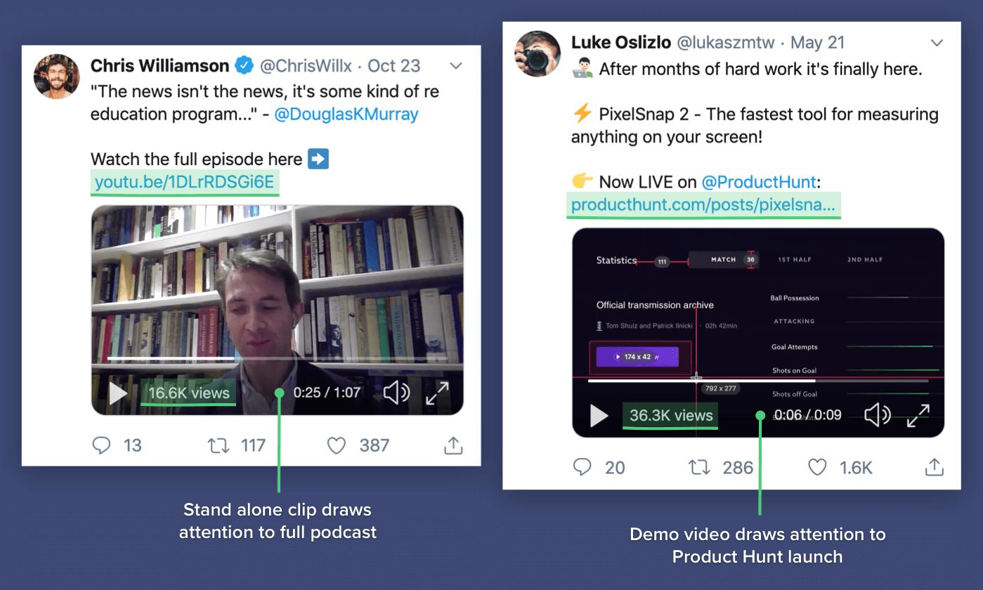Add video to tweet