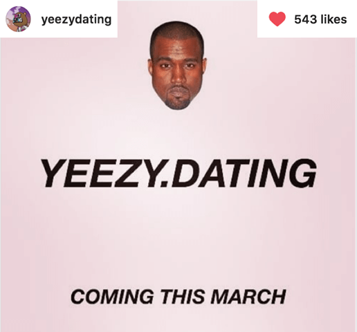 Yeezy Dating Instagram