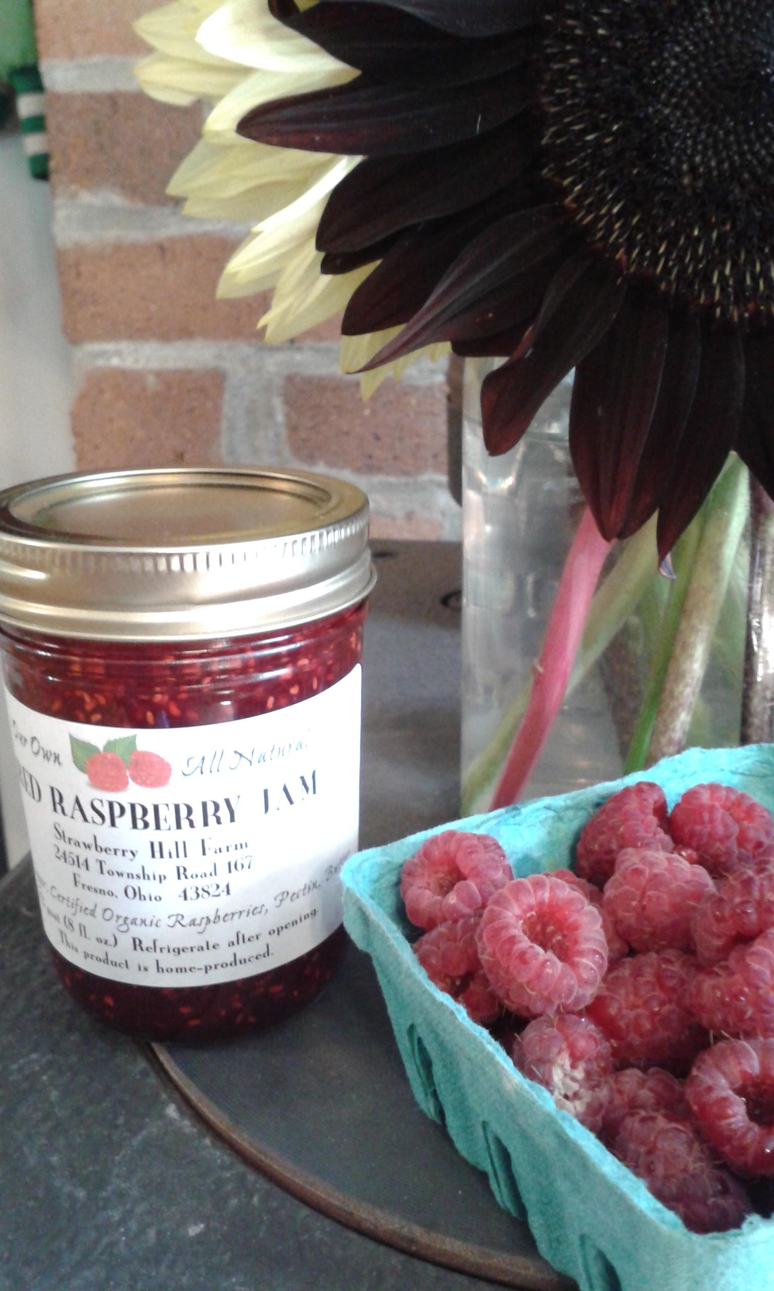 Raspberry Jam Is in Stock!