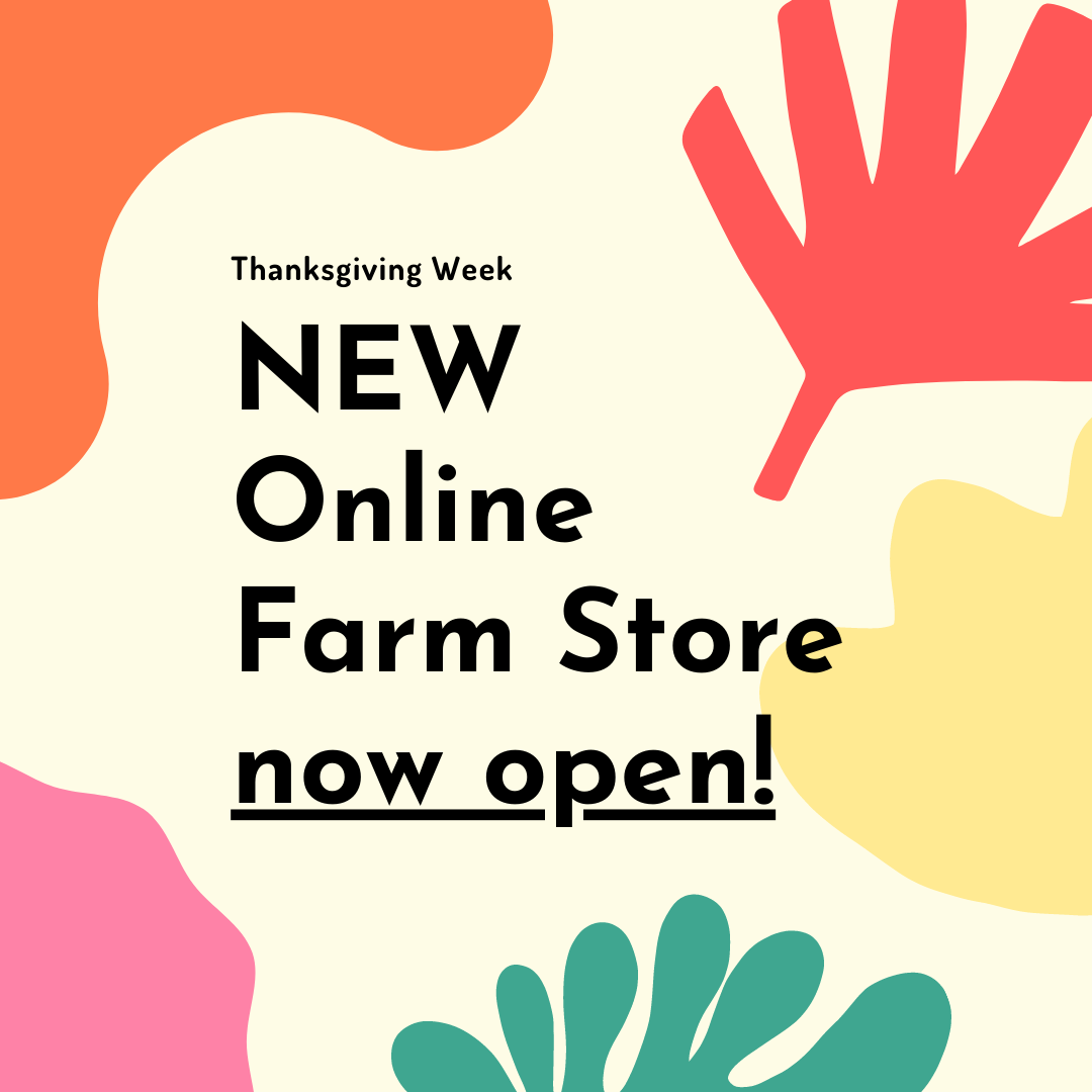Online Farm Stand is OPEN!
