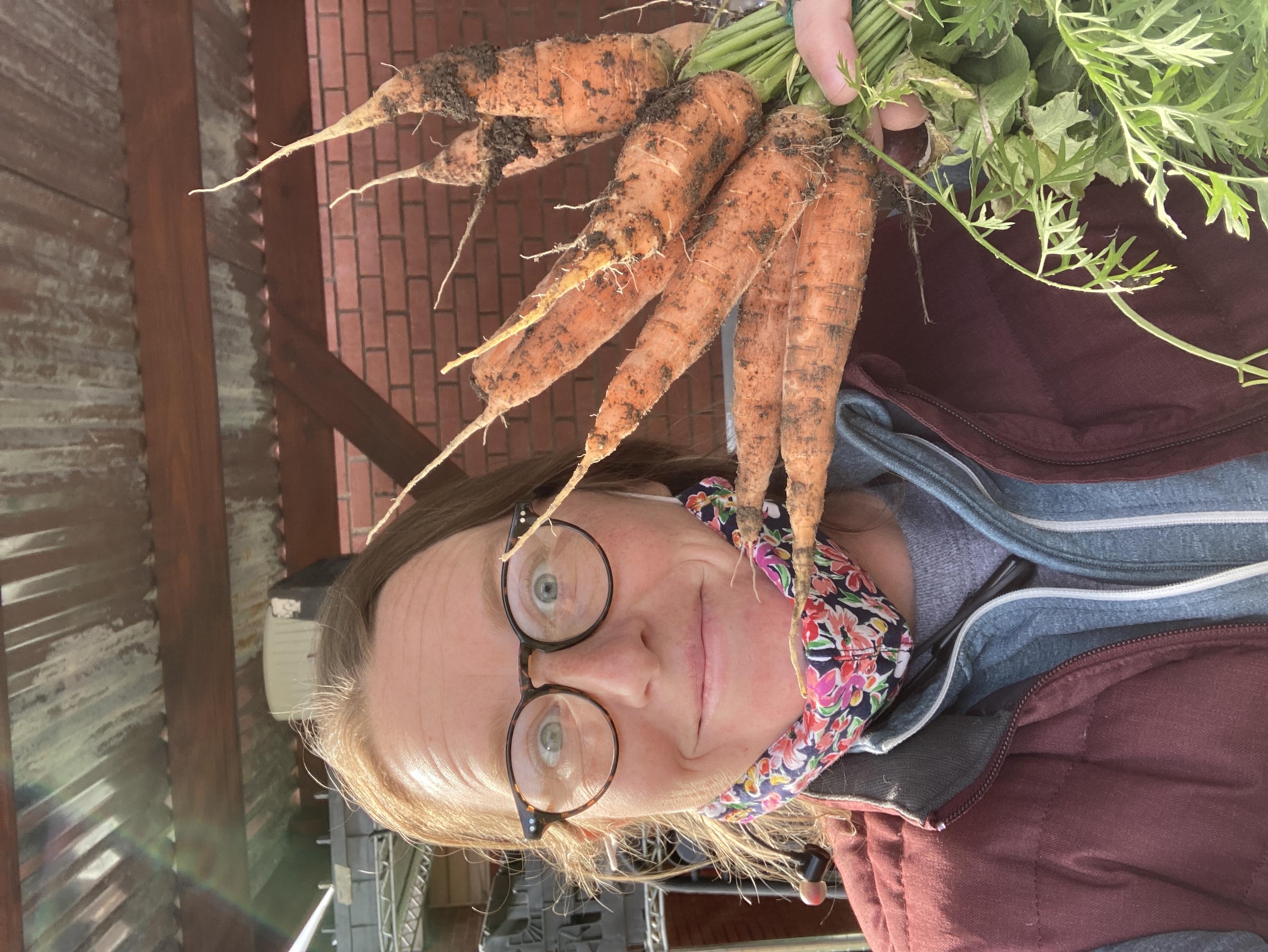 Winter Carrots!