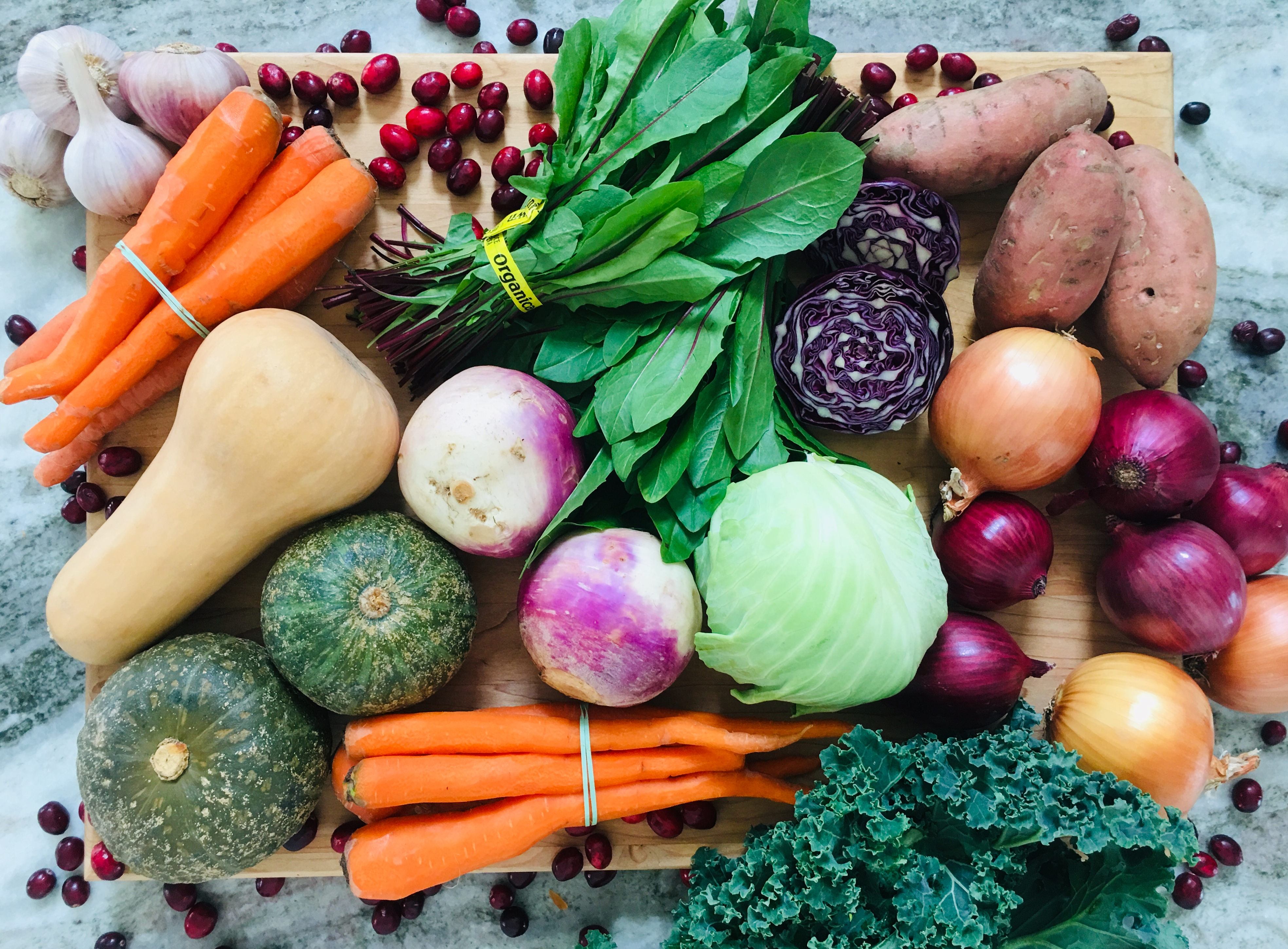 Order Your Holiday Veggies and Local Treats from Farm Stand Online!