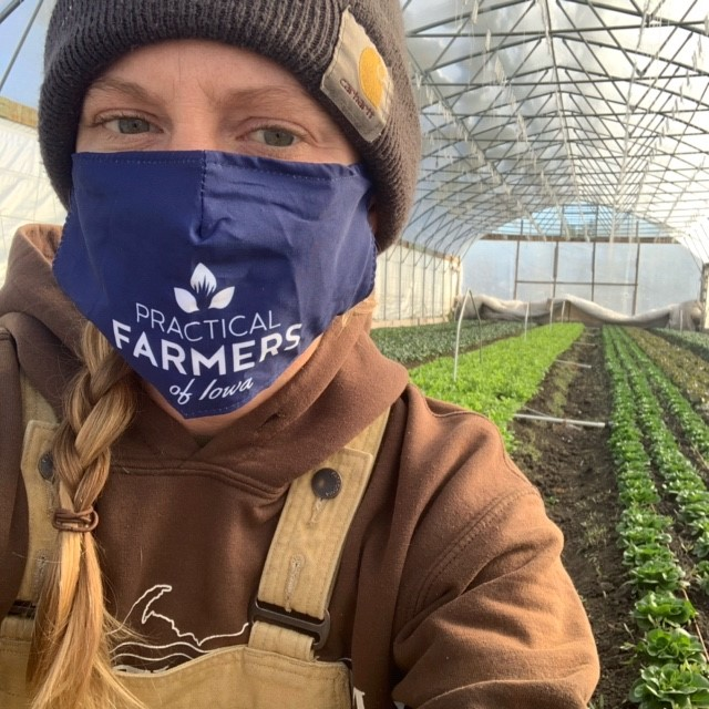 Abby on our High Tunnels + Fresh Greens in the New Year!