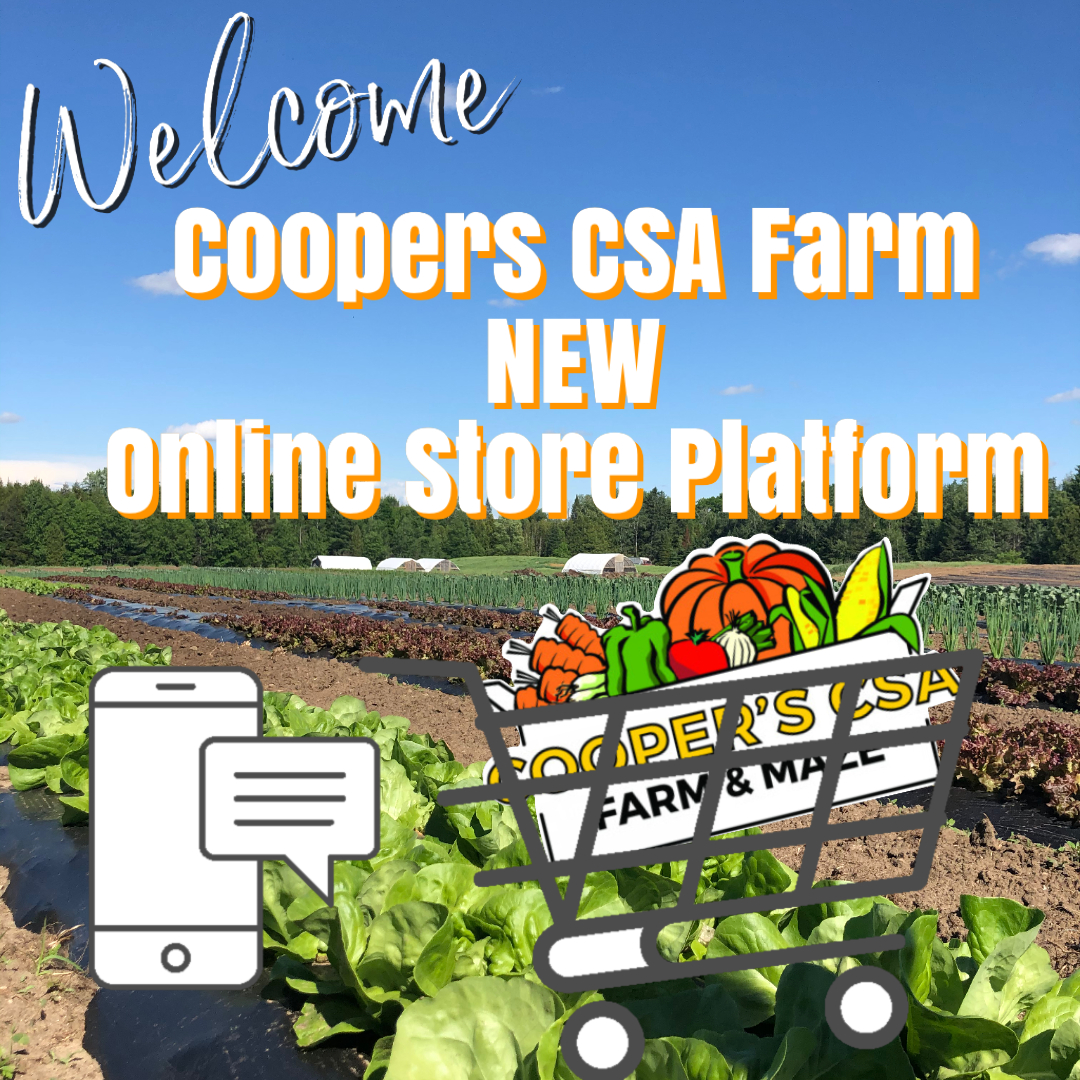 Coopers CSA Farm- Online Farm Stand