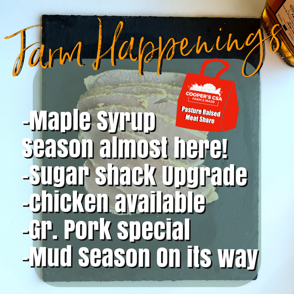 Winter/Spring Meat Share March 8th-13th 2021-Coopers CSA Farm Happenings