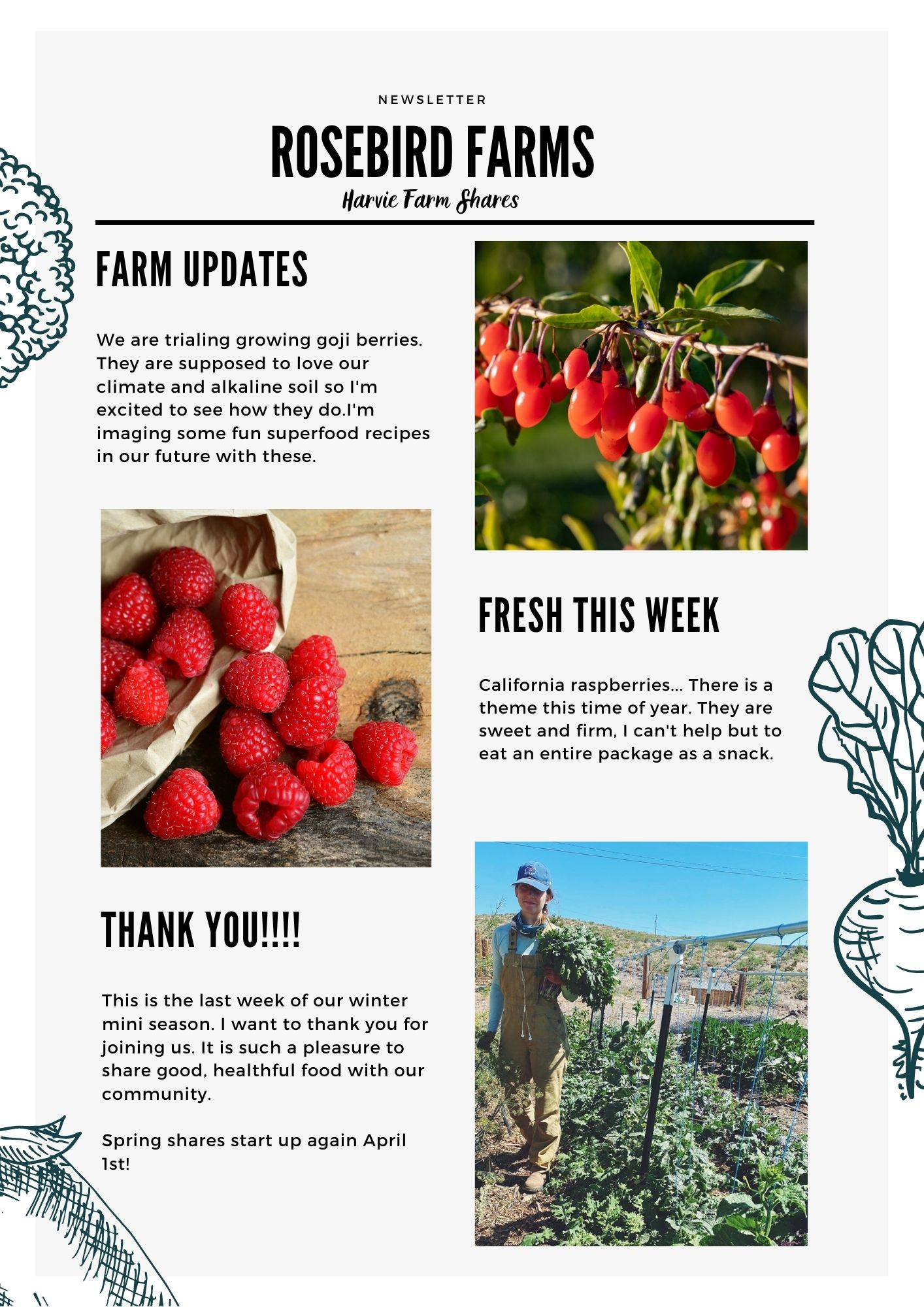 Farm Happenings for March 11, 2021