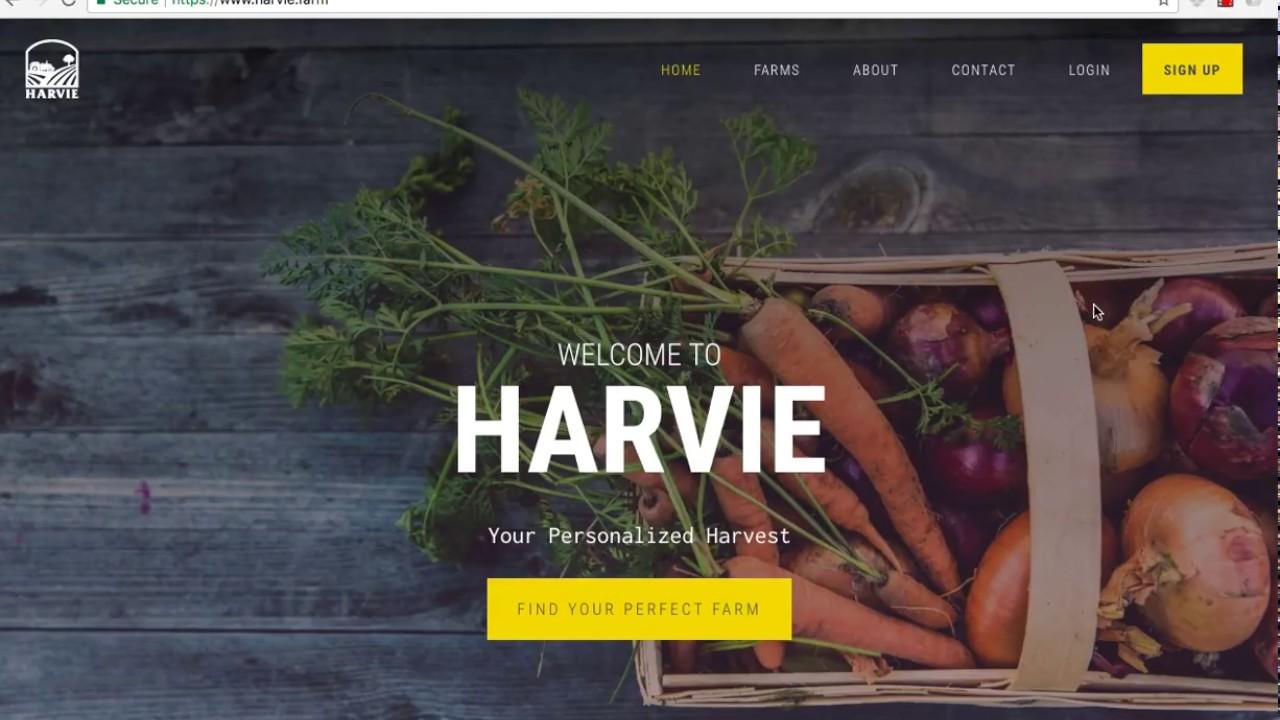 How Ordering Through Harvie Works
