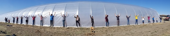 The Greenhouse is Up!! (Orders for April 26)
