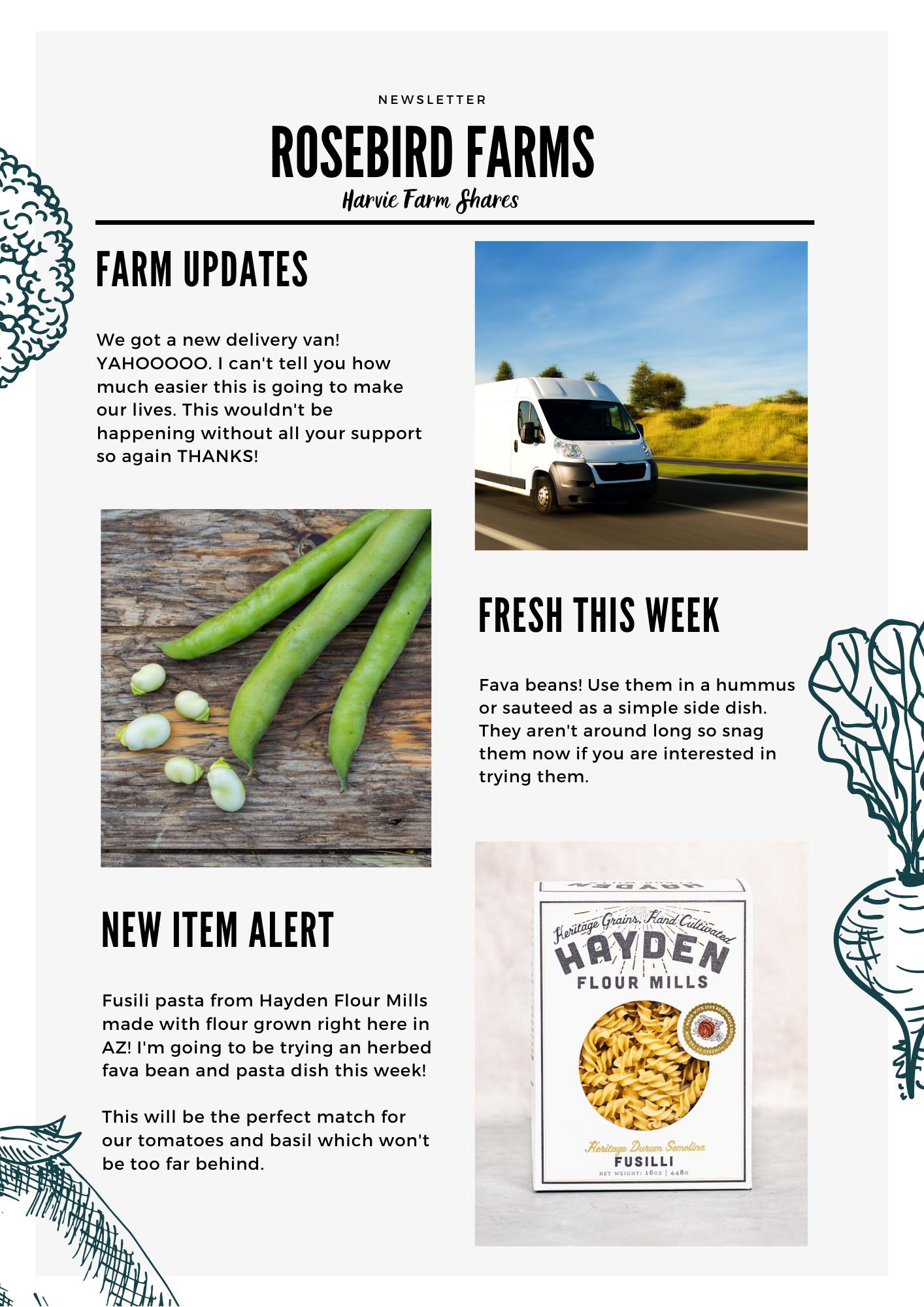 Farm Happenings for April 22, 2021