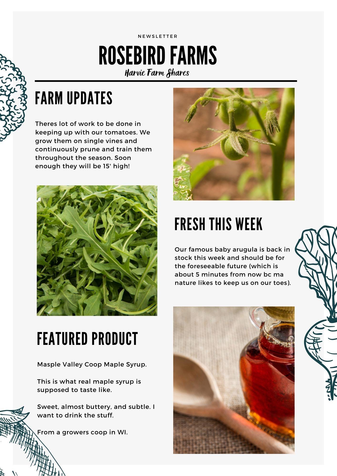 Farm Happenings for April 29, 2021