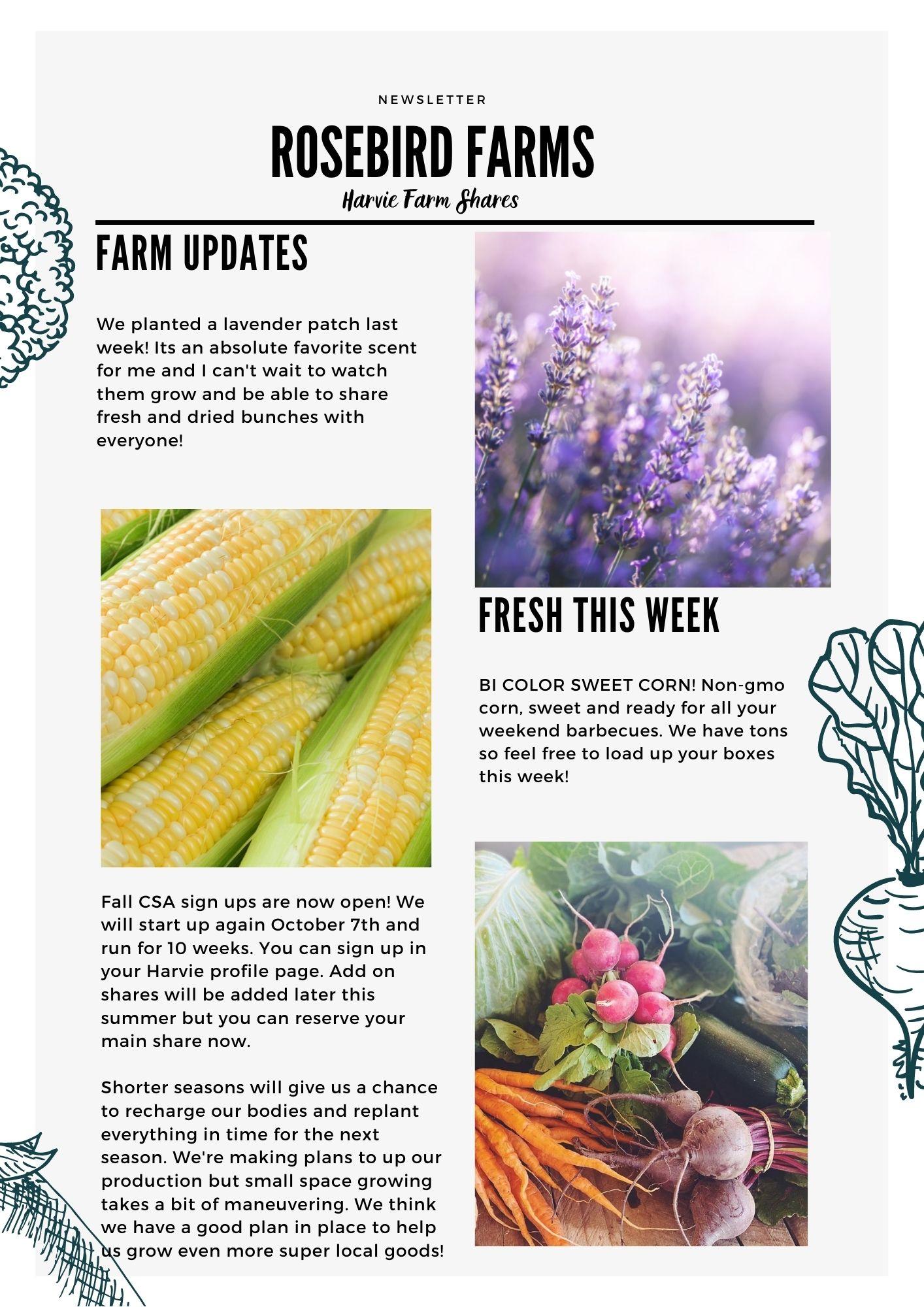 Farm Happenings for June 24, 2021