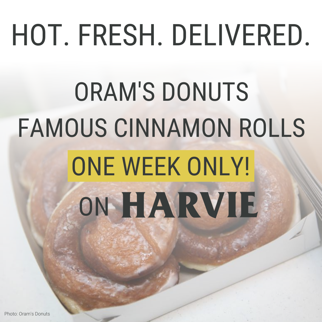 This week only! Oram's Donuts