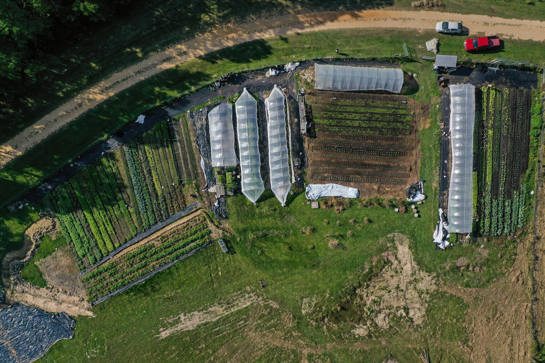 The Farm Fly-over