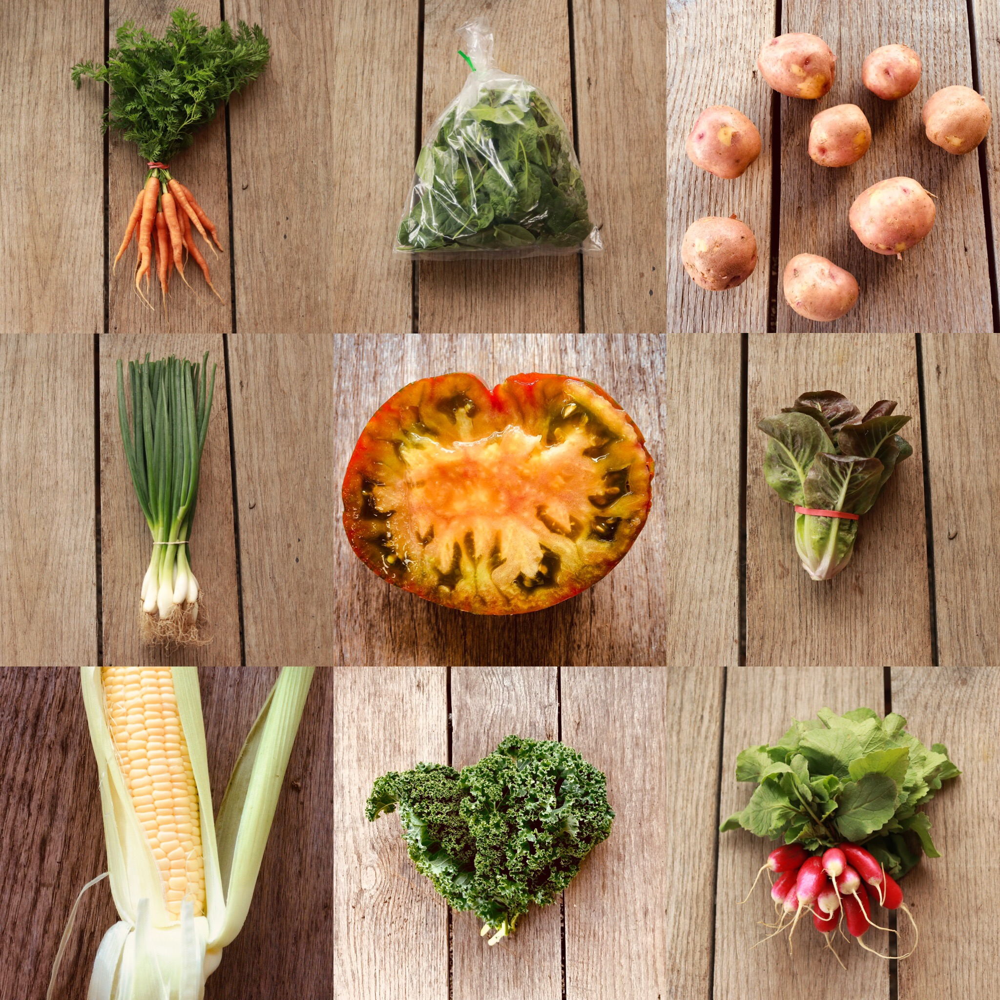 Summer Vegetable Share