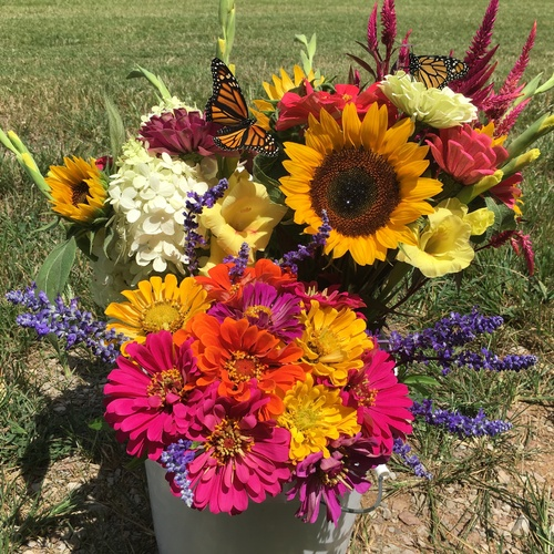 Summer Fresh Cut Flowers - Deluxe