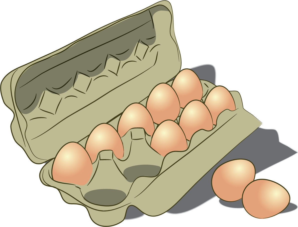 One Dozen Eggs