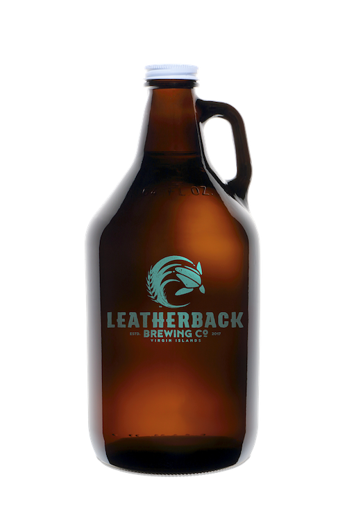 Leatherback Brewing Co. One Growler