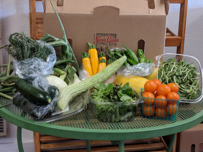 Spring and Summer Farm Share