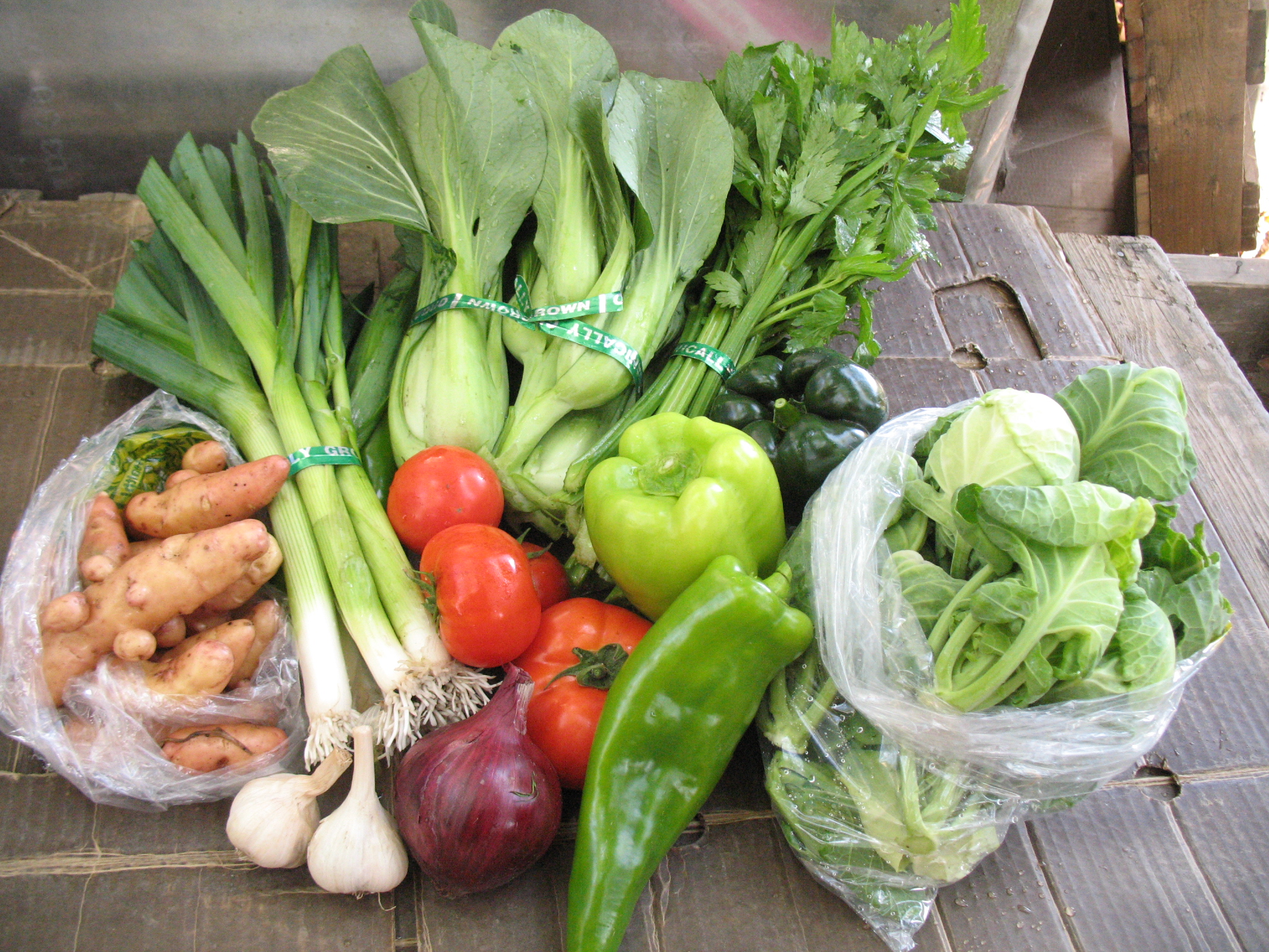 Small Vegetable Share