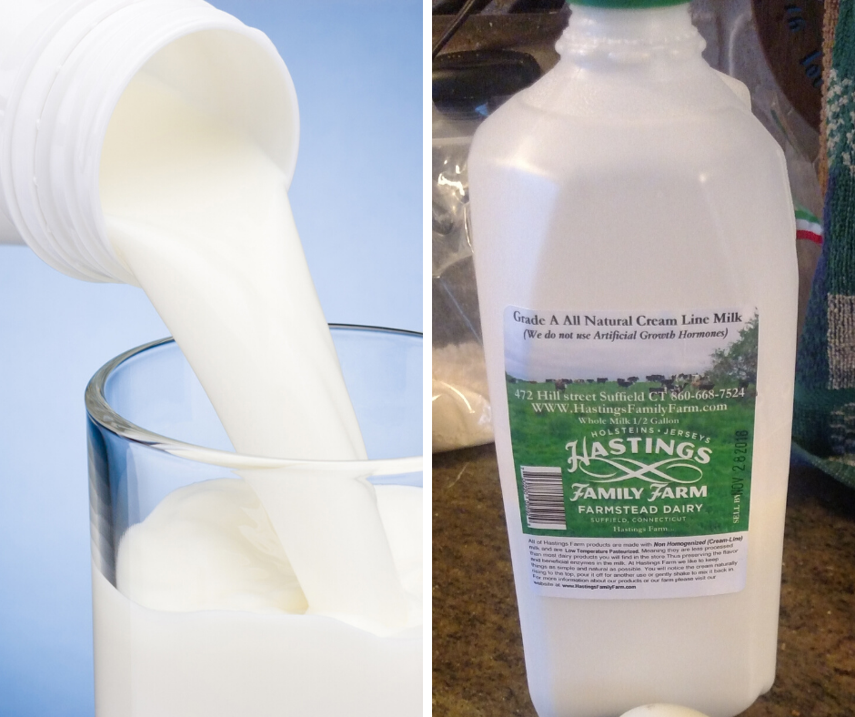 Half-Gallon Whole Milk
