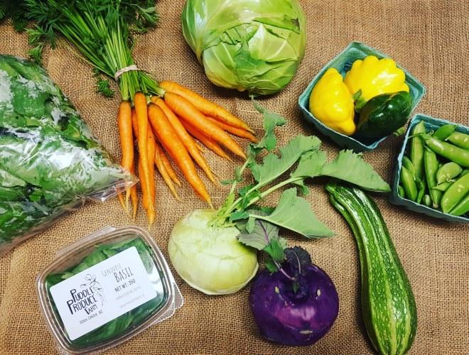 Summer Regular Vegetable Share