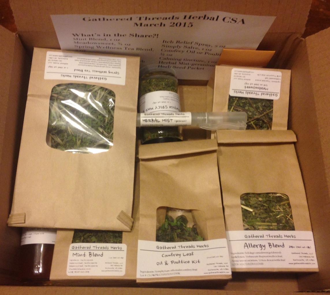 Autumn Tea and Wellness Herb Share