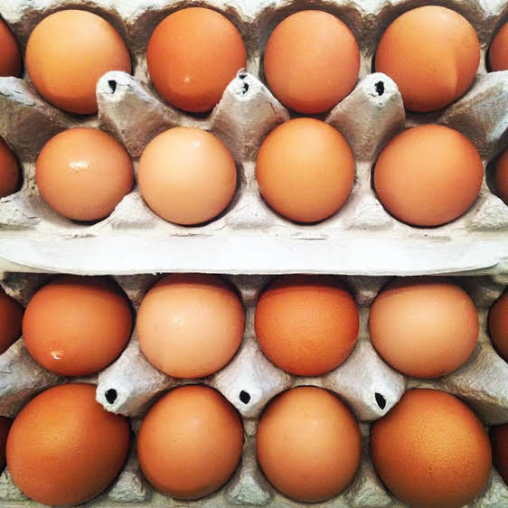 Summer Egg Subscription from Country Lane Gardens