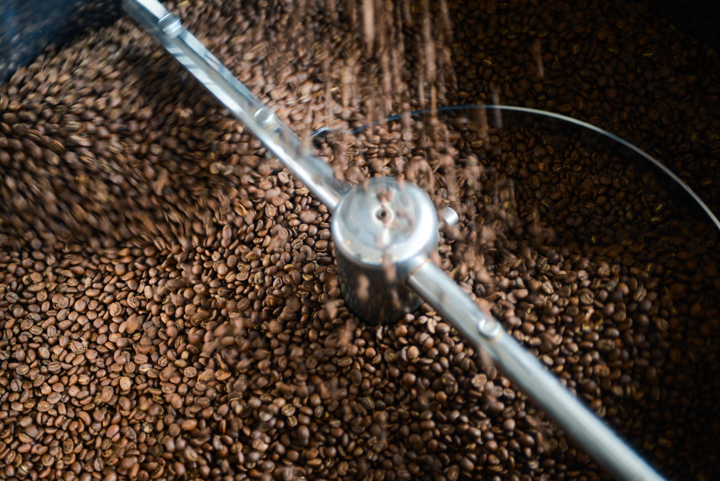 Locally Roasted & Ground Coffee! 8 ounces