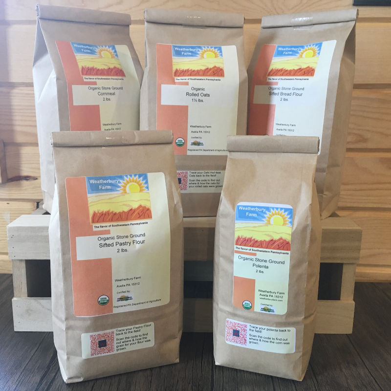 Weatherbury Flours & Milled Products