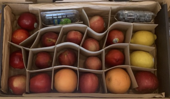 2020 Every Other Week Fruit Share