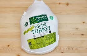 One Medium Turkey