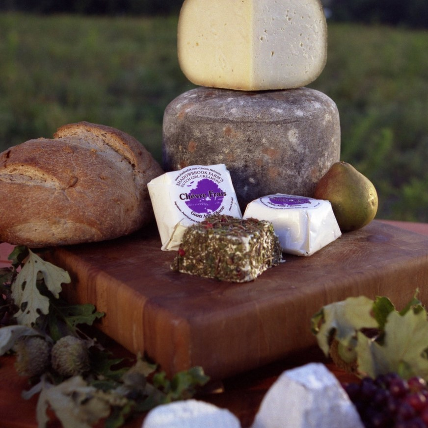 Fall Goat Cheese Subscription from Dutch Girl Creamery
