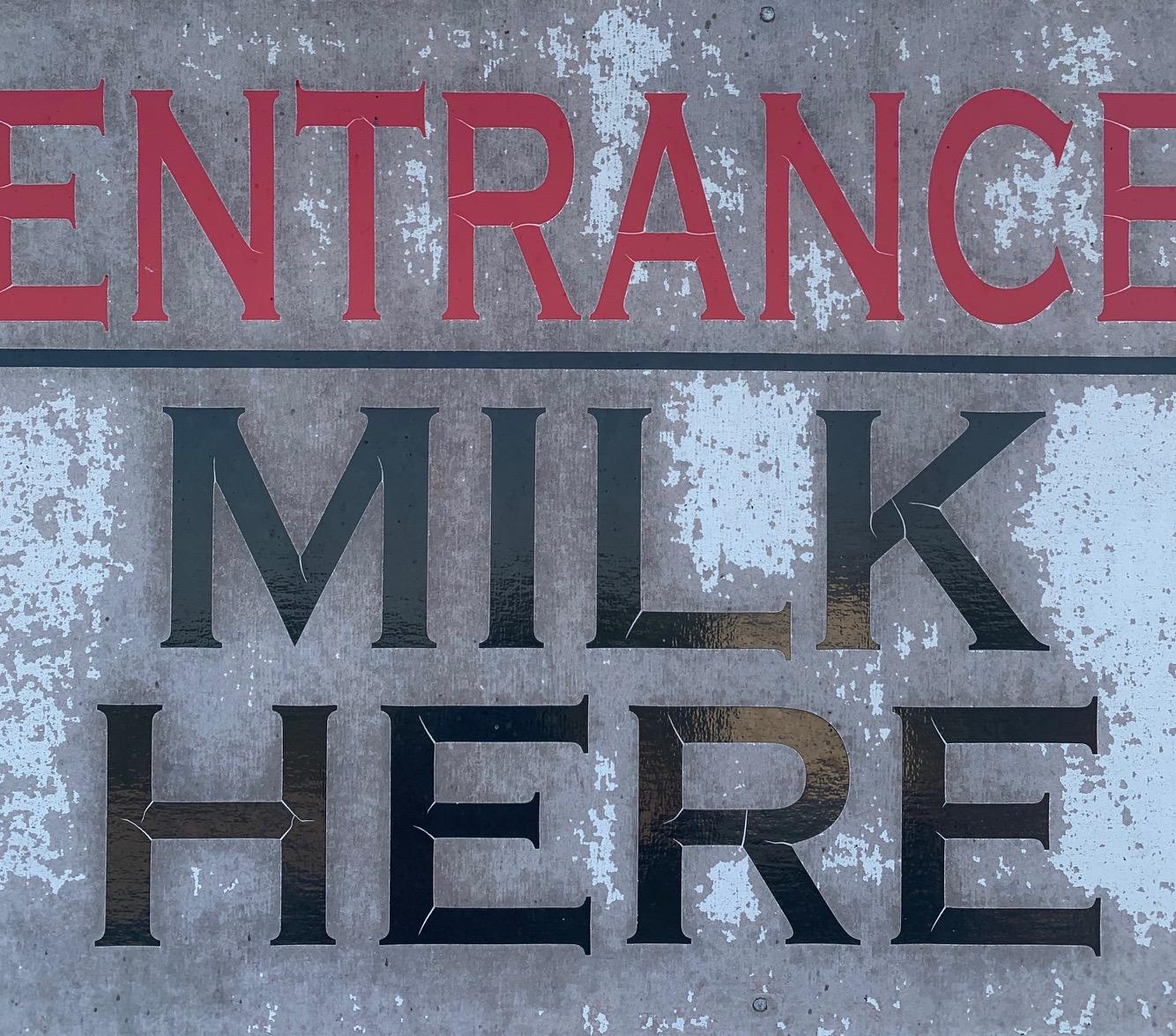 Raw Grass Fed Local Milk / One Cold Gallon!