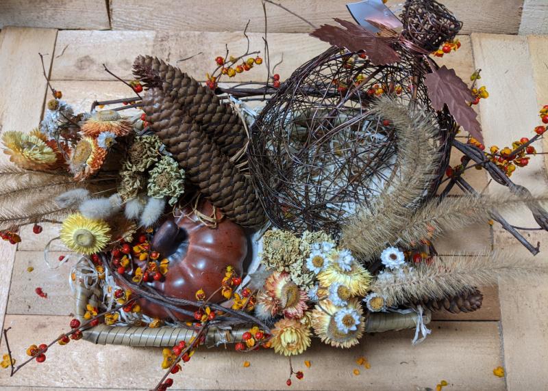November Thanksgiving Centerpiece